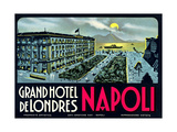 Grand Hotel De Londres, Napoli Prints
