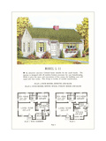 Model Home and Plan Prints
