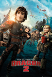 How to Train your Dragon 2 Affiches