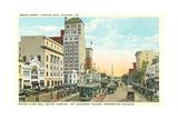 Broad Street, Augusta Posters