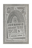 Iroquois Deluxe Bike Tires Prints