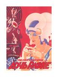 Russian Romance Film Poster Print