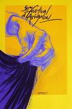 Festival d'Avignon 1996 Collectable Print by Ernest Pignon-Ernest