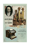 Organ and Keyboard, Mormon Tabernacle Posters