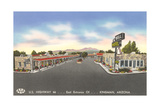 Bell Motel, Kingman Arizona Prints