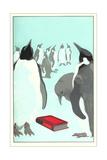 Penguins Discover a Book Prints