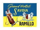 Grand Hotel Savoia, Rapallo, Italy Poster