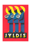 Ad for German Jyldis Cigarettes - Art Print