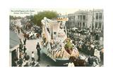 Mardi Gras Parade Float, Rex Posters