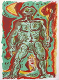 André Masson - Personnage Obrazy