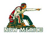 Pueblo Indian Pointing Prints