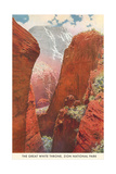 Great White Throne, Zion Giclée-Premiumdruck