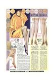Twenties Clothes Catalog Poster