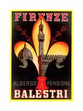 Albergo Pensione Balestri, Firenze Prints