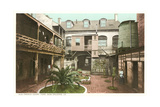 Old French Courtyard, New Orleans Posters