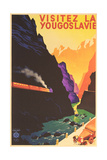Yugoslavia Travel Poster Art