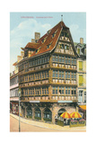 Kommerzell-Haus, Strassburg, Austria Posters