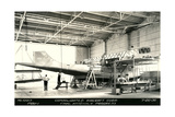 Airplane Undergoing Repair Prints