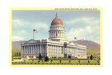 State Capitol, Salt Lake City Poster