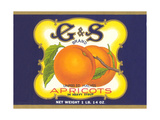 G and S Apricot Halves Posters
