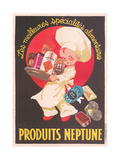 Label for Nepute Food Products Posters