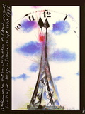 Rencontres Int. De L'Audiovisuel Scientifique Collectable Print by André François