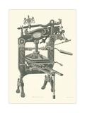 Old Printing Press Posters