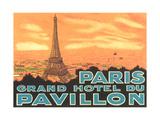 Pavillon Hotel, Paris Posters