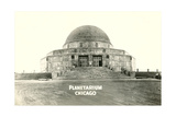 Adler Planetarium under Construction Print