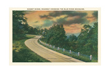 Sunset, Blue Ridge Mountains Posters