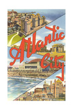 Scenes from Atlantic City Posters