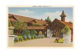 Esceola Lodge, Linville Poster
