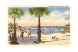 North Beach, Corpus Christi Poster