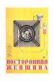 Russian Camera Film Poster - Reprodüksiyon