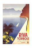 Travel Poster for Garda Lake Poster
