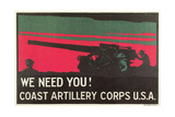 Coast Artillery Corps Posters
