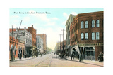 Pearl Street, Beaumont Prints