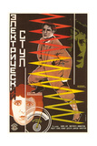 Russian Electric Chair Poster Art