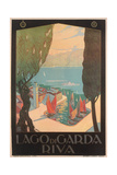 Travel Poster for Garda Lake Prints