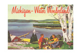 Michigan, Water Wonderland Prints