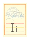 I Is for Igloo Posters