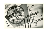 Greetings from Hollywood, California Posters