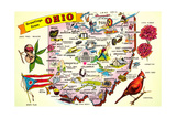 Greetings from Ohio Posters