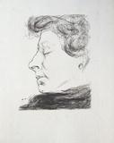 Portrait De Femme Posters av Albert Marquet