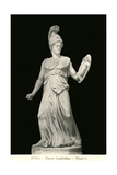 Statue of Minerva Prints