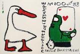 Les Nouvelles De L'Estampe Serigraph by André François