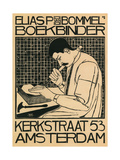 Elias Bommel Bookbinder Prints