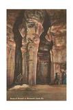 Mammoth Cave, Ruins of Karnak Print