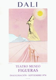 Teatro Museo Figueras 6 Lámina coleccionable por Salvador Dalí