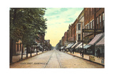 Fourth Street, Steubenville Poster
